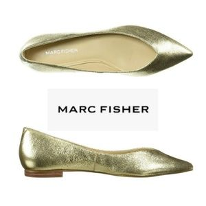 Pretty Pointy Toe Marc Fisher Flats